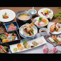 ■ 松コース ■魚介をメインに料理長が厳選した旬の食材をご提供/豊後水道潮彩会席