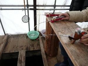 わかさぎ釣り・から揚げ体験付地元食材使用二食付プラン 貸切露天風呂も楽しめます!