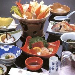 【地元グルメ】能登牛陶板焼き+新鮮魚介★グレードアップお部屋食♪