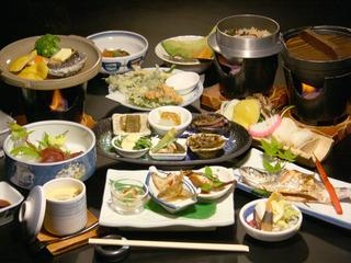【お食事重視の方へ】贅沢食材!和牛ステーキとあわびの陶板焼きを堪能♪とわだこ遊月贅沢プラン