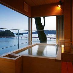 海の見える展望露天風呂付客室 『石斛』