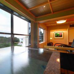 『海庭』☆一番人気!海の見える展望風呂付客室