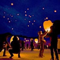 スカイランタン「はなまき星めぐりの夜〜願いを込めて、星空へ〜」イベント参加プラン