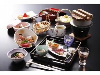 【お料理で選ぶ】大好評☆お膳で炊き上げる「アツアツ♪うなぎの釜飯」付会席プラン