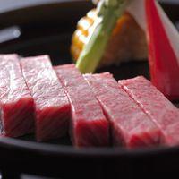 【飛騨牛増量】お肉好きの方にお薦め!最上級飛騨牛ステーキ70gと飛騨の地酒付きプラン