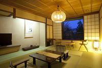 木の作りが温かい:スタンダード客室(和室12畳)