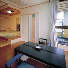 【温泉】露天風呂付和洋特別室(床暖房)