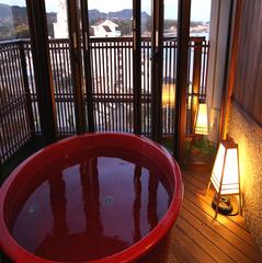 【温泉】ファミリー露天風呂付客室(開閉式露天、和室)
