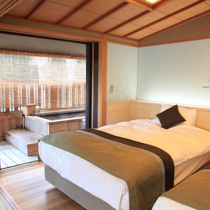 【禁煙室】露天風呂付客室5階