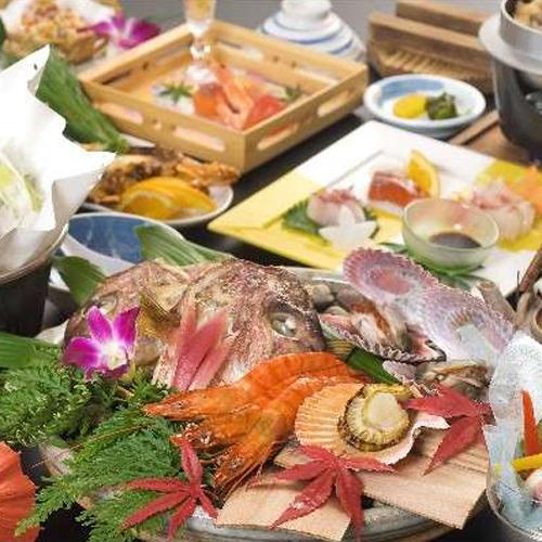やわらか牛ロースの陶板焼と瀬戸内の贅沢会席◆2食付プラン