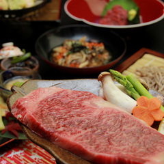 【ご当地グルメ】山形牛ステーキ&馬刺し&鮎の塩焼☆最上グルメを丸ごと堪能♪【現金特価】
