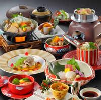 【食にこだわる冬旅路】【食事処-花-】食を楽しみ・旅館で寛ぐ冬のひととき〜料理長こだわりの味をどうぞ