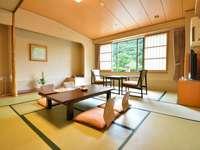 【夕食・個室食】和室10畳+広縁 お部屋数おまかせ
