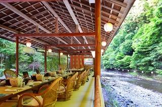 【平日限定】プラン暑い京都の夏を高雄の納涼「川床」で涼しさ満喫!料理はほたるの膳