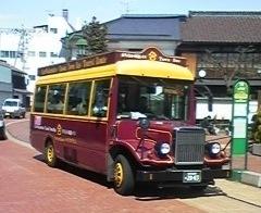 会津若松観光★まちなか周遊バス「ハイカラさん」1日乗車券付きプラン♪朝食付き