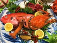 【五大豪華食材】活き鮑・みかわ牛・赤座海老・金目鯛・渡り蟹 珠玉のグルメプラン〈部屋食〉
