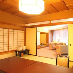 【特別室◇蘭亭】ゆとり居間付和室10畳+6畳:個室or部屋食