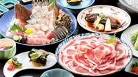 【春夏旅セール】海の幸山の幸を選べる楽しさ&嬉しい2大特典付き!
