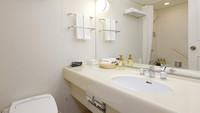 【受験生応援】27平米の禁煙ツインルームに宿泊!空気清浄機あり!チェックアウト12時 朝食付き