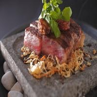 【選べるメイン料理】「幻のブランド牛」能登牛ステーキ  or  「白身のトロ」のどぐろの塩焼き