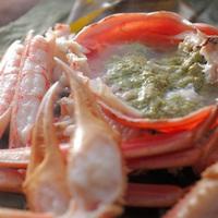 【活蟹尽くし◆個室食】活ズワイ蟹を<たっぷり1人2杯!>「焼×刺×蒸」で満たされるひととき