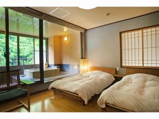 温泉スイート『六庄庵302号室』(露天風呂付客室72平米)