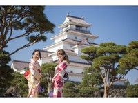 ◆城下町を着物で散策♪着物レンタル+簡単ヘアセット+6時間散策プラン(1泊朝食付き)◆