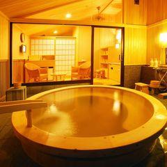 【直前割】【家族風呂】1泊3食 ゆっくり贅沢朝寝坊プラン 【貸切風呂1回無料付】