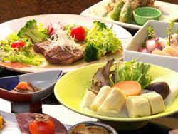 ★ぷるぷるコラーゲン湯葉鍋とやわらか和牛ステーキプラン
