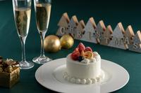 高層階確約〜お部屋で味わうスパークリングワイン&ケーキ〜5つの特典付きクリスマス限定プラン 朝食付き