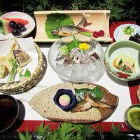 【季節の和食膳】山菜に川魚♪京の奥座敷「花背」の旬の味覚と自然を満喫 ※現金特価