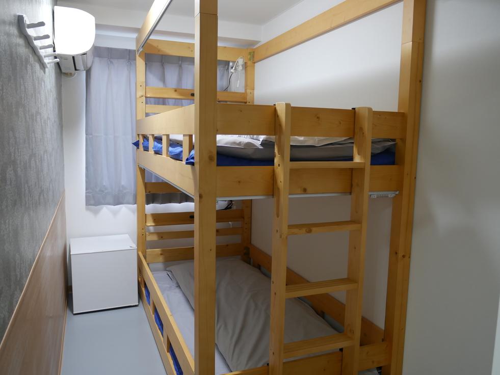 リニューアル2段ベッドルーム
