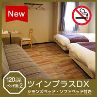 【禁煙】ツインプラスDX(シモンズベッド 幅120cm)