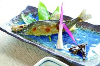 【夏限定】天然!!鮎会席★奥京都の清流上林川、由良川ならではの旬の味覚