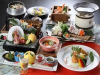 ■12月〜2月■冬の豪華食材「蟹」&「河豚」を堪能!至福の会席に舌鼓◎瑞宝プラン