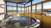 【露天風呂付】天然温泉露天風呂付き最上階スイートルーム「松の間」