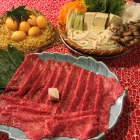 九州産黒毛和牛を贅沢にすき焼きで。 「極」 (2食付)個室お食事処