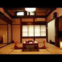民芸調大部屋和室16畳(バストイレ付) ★Wi-Fi完備