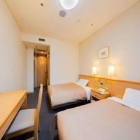 【喫煙】ツインルーム(18平米 110cm幅ベッド)