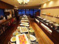 ★宍道湖ビュー★レストランで季節のディナービュッフェ♪(朝・夕食付き)