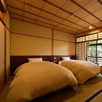 【和風ベッドルーム】和室10畳+8畳ツイン◆2階◆温泉内風呂