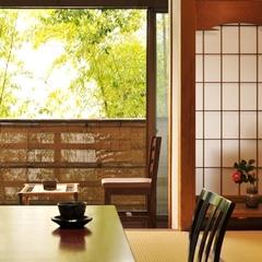 【和室7〜8畳(2名利用)】1〜2階/ 温泉内風呂付