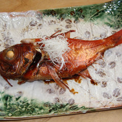 口の中でとろける食感を堪能…金目鯛姿煮付きプラン