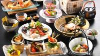 限定数あり!【凪の夕涼(ゆずみ)】大広間でゆっくり食事を楽しみたい方にオススメの会席です。