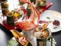 【料理長おすすめ】金目鯛の姿造利と海の幸を堪能!「風月会席」プラン《2食付き》