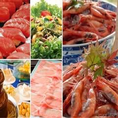 春休みも開催!ずわい蟹にお寿司・ステーキが大人気!ディナーバイキング☆25種ドリンク飲み放題〜後半席