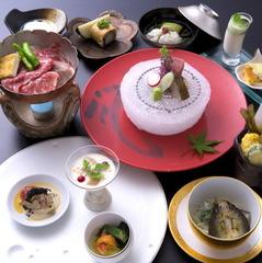 【伊勢海老のお造りプレゼント!】和食の美味しさを堪能〜初春の贅沢箱根旅