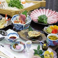 【2食付】一度は食べたい!ご当地名物♪富士桜ポークしゃぶしゃぶ会席で美味三昧/現金特価