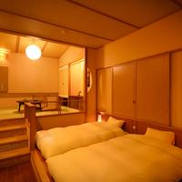 メゾネット風露天風呂付客室【4階】(禁煙)