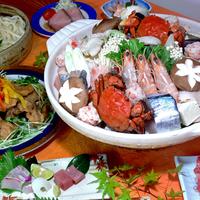 【食#あるでないで】【冬季限定★山海鍋】フーフーしながら食べよ♪あったか山海鍋と温泉で冬の癒し旅